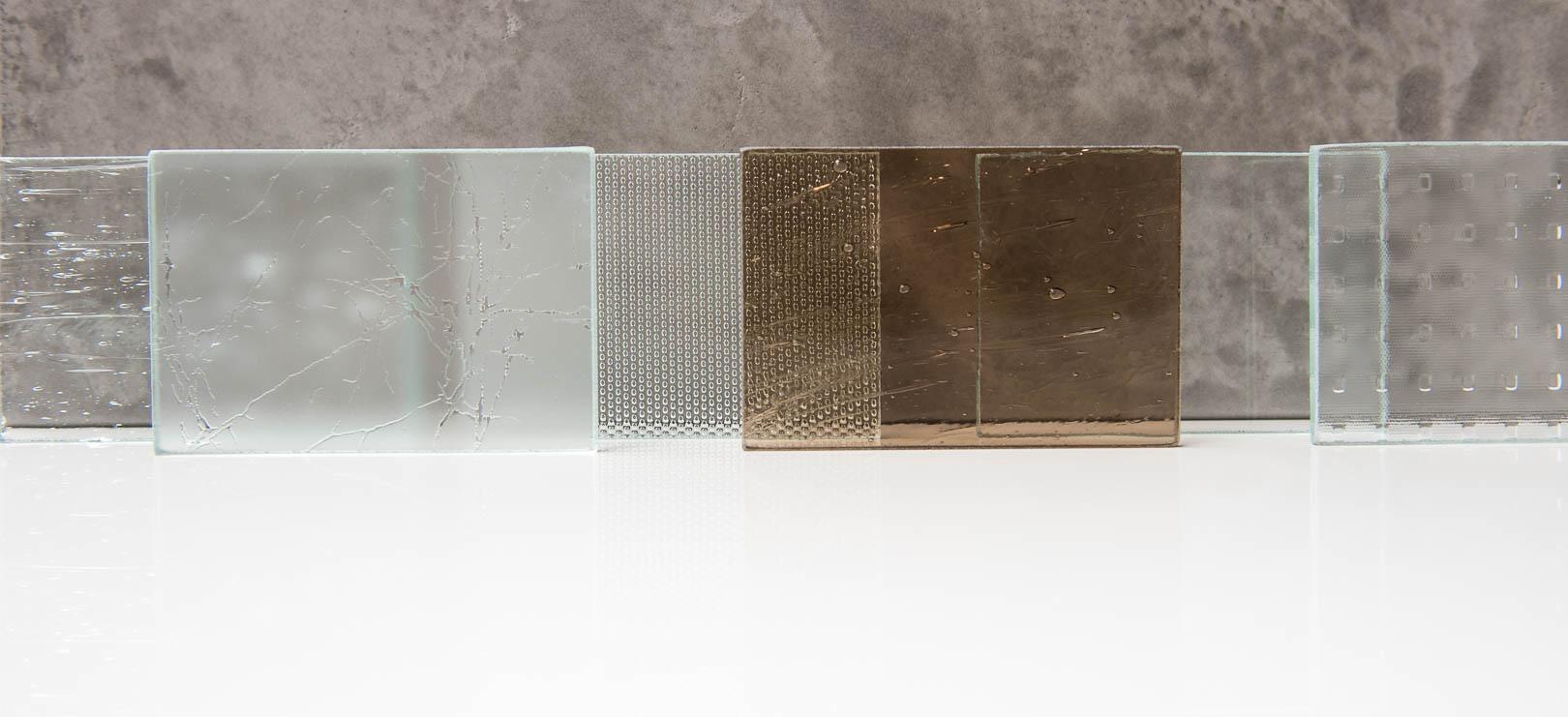 Glasmuster für Glasrahmen