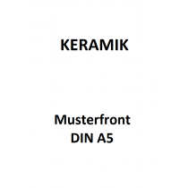 Keramik Muster DIN A5