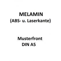Melamin Muster DIN A5